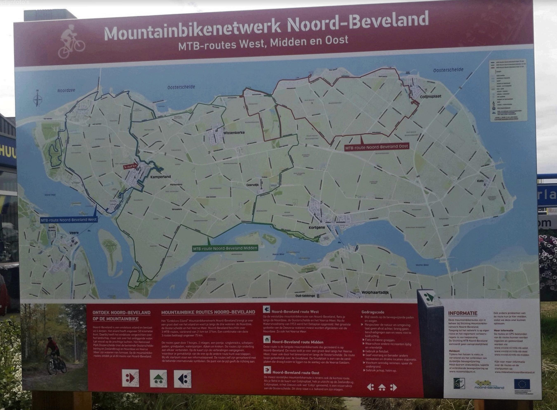 Mountainbike netwerk Noord-Beveland
